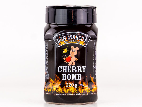 DON MARCO'S BARBECUE RUB - CHERRY BOMB - 220g
