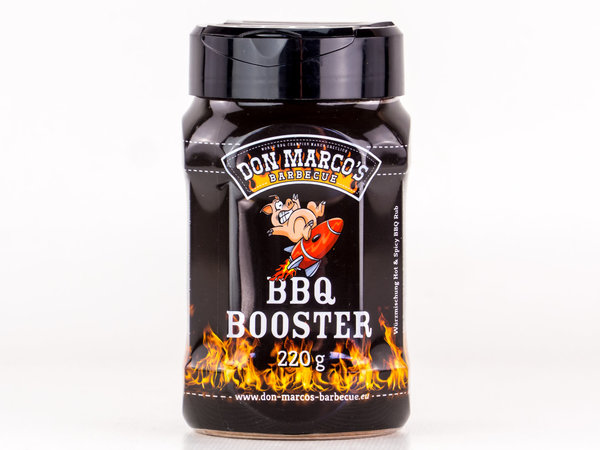 DON MARCO'S BARBECUE RUB - BBQ BOOSTER - 220g