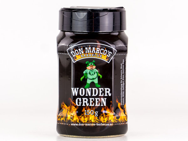 DON MARCO'S BARBECUE RUB - WONDER GREEN - 150g